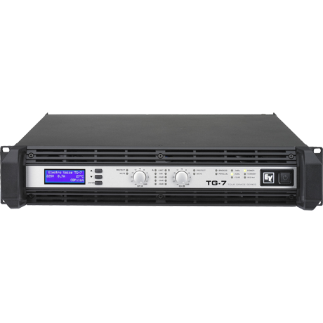 Amply TG7 3500 W per channel power amplifier
