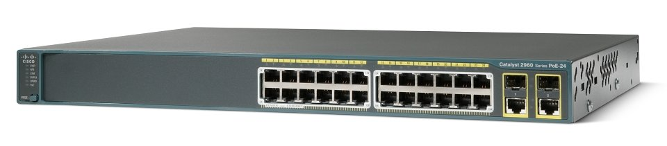 WS-C2960+24PC-L Cisco Catalyst 2960-24PC-L Switch
