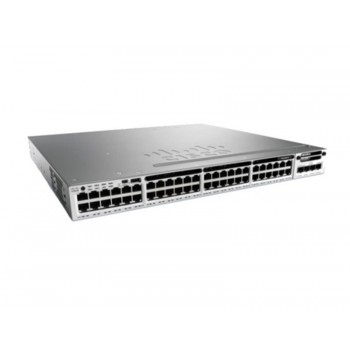 WS-C3850-48P-L Cisco Catalyst 3850 48 Port PoE LAN Base