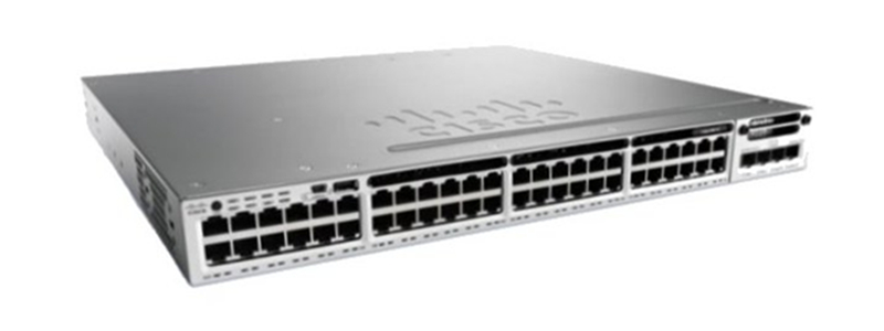 WS-C3850-48P-S Cisco Catalyst 3850 48 Port PoE IP Base