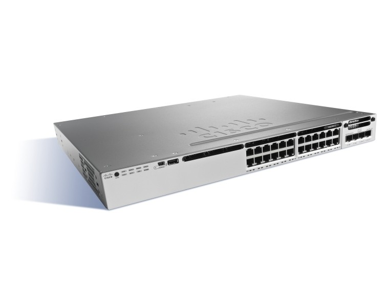 WS-C3850-24T-E Cisco Catalyst 3850 24 Port Data IP Services
